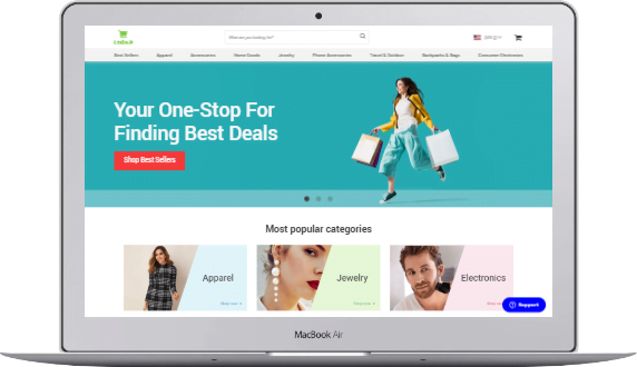 e-commerce design by HumanTalents
